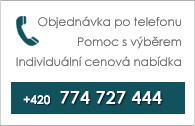 Objednávka po telefonu +420 774 300 057