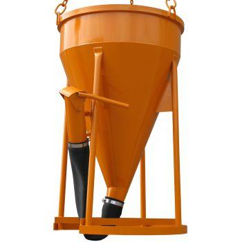 Badie na beton typ 1017 - výpust rukáv s ventilem